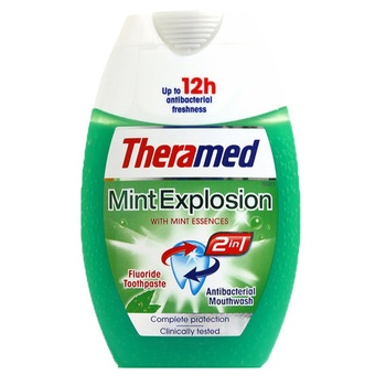Theramed Toothpaste Mint Explosion 2in1 75ml