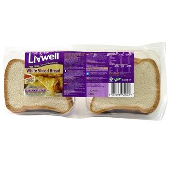 Livewell Gluten Free White Bread 400g
