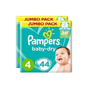 Pampers Baby Dry Diapers Twin Pack Assorted