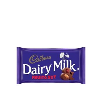 Cadbury Dairy Milk Fruit & Nut 100g