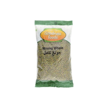 Goodness Foods Moong Whole 500g