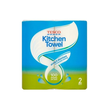Tesco strong kitchen towels 2s