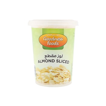 Goodness Foods Almond Blanched Slice (B) 200g