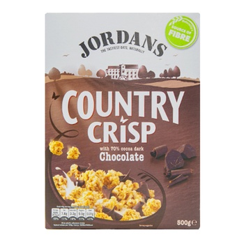 Jordans Country Crispy Dark Chocolate  500g