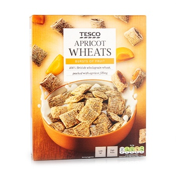 Tesco Apricot Wheats 500g