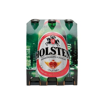 Holsten Non Alcohlc Beer-Pomegranate Bottle