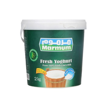 Marmum Yoghurt - Natural Full Fat  2 Kg