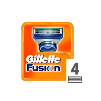 Gillette Shaving Blade Fusion Cartridges 4pcs