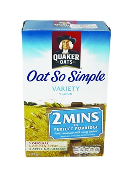 Quaker Oats So Simple Variety 297g