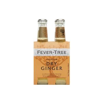 Fever Tree Premium Ginger Ale 4x200ml