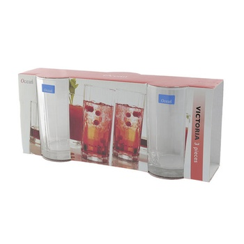 Ocean Victoria 10Oz Tumbler 3 Pc Set