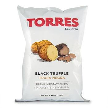 Torres Black Truffle Potato Chip 125g