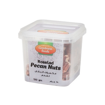 Goodness Foods Pecan Nuts Roasted 150g