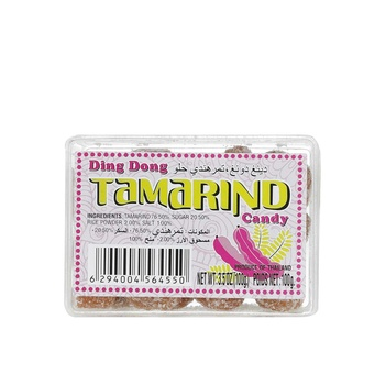 Ding Dong Tamarind Candy  Sweet 100g