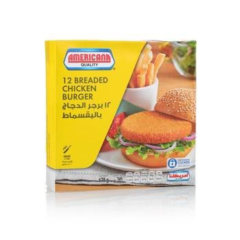 Americana Chicken Burger 12 pcs