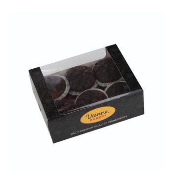 Vienna Bakery Chocolate Muffin 6 Pieces