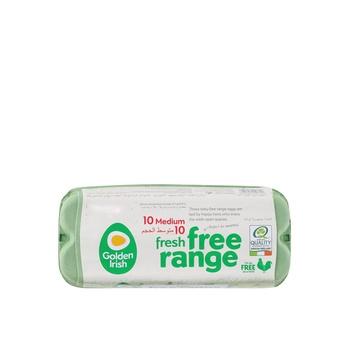 Golden Irish Fresh Free Range Brown Egg Medium 1 X 10pcs