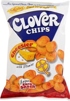 Leslie Clover Chips Cheesier 55g