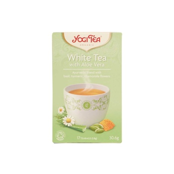 Yogitea White Tea With Aloe Vera 30.6g