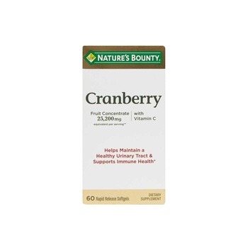 Natures Bounty Cranberry With Vitamin