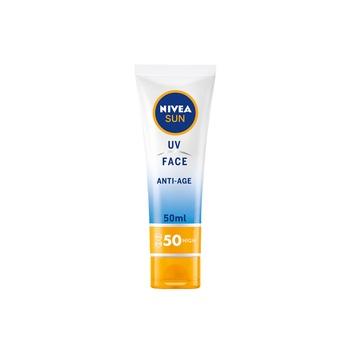 NIVEA Sun Cream UV Face Anti-Age SPF50 50ml