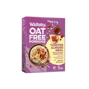 Wallaby Toasted Almond Meal - Maple & Fig 6*40g