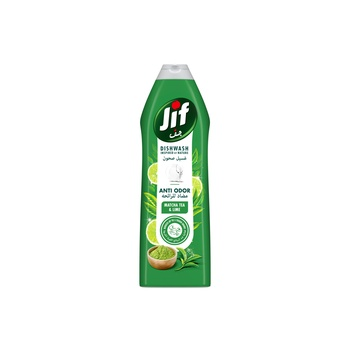 Jif Anti Odor Dishwashing Liquid Matcha Tea & Lime 750ml