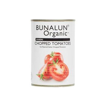 Bunalun Organic Cooking Chopped Tomatoes 400g