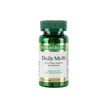 Nature's Bounty Daily Multi Nutritional Support 100 Caplets