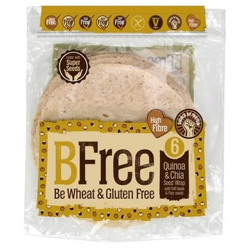 Bfree Quinoa & Chia Wraps 252g
