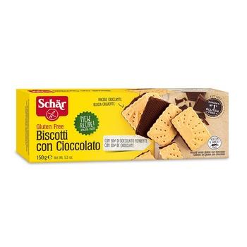 Schar Biscotti Cioccolato Gluten Free 150g