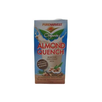 Pureharvest Organic Almond Quench  Almond Coconut Milk 1 ltr