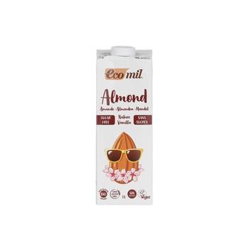 Ecomil Org Almond Mlk Sf Vanilla 1L