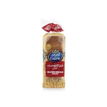Lusine sliced white bread 600g