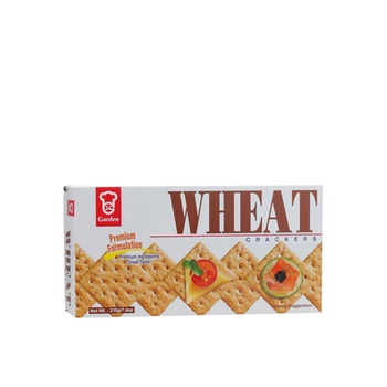 Garden Wheat Crackers 210g