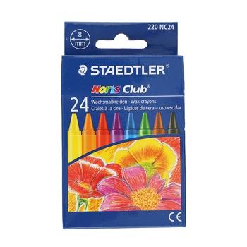 Staedtler Noris Club Wax Crayon - 24pcs pack