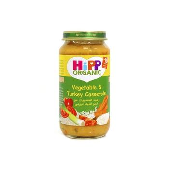 Hipp Organic Baby Food Vegetable & Turkey Casserole 250g