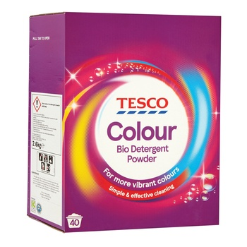 Tesco Colour Laundry Powder 2.6kg