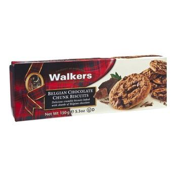 Walkers Belgin Chocolate Chunk Biscuit 150g