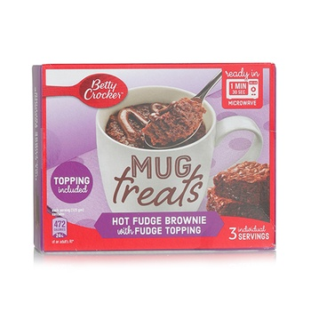 Betty Crocker Mug Treat Fudge Brownie Mix 300g