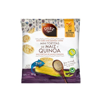 Diet Radisson Mini Corn & Quinoa Cake 50g