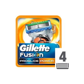 Gillette Fusion Proglide Power Cartridges 1 X 4pcs