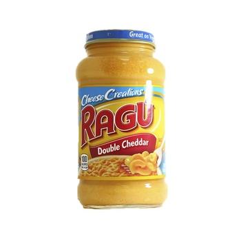 Ragu Pasta Sauce Double Cheddar 454g