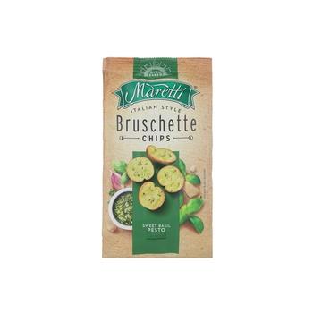 Maretti Sweet Basil Pesto Bruschette 80g