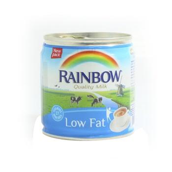 Rainbow Evaporated Milk Low Fat 158 ml