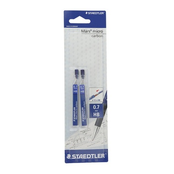Staedtler Mechanical Pencil Lead 0.7mm 2 Tubes