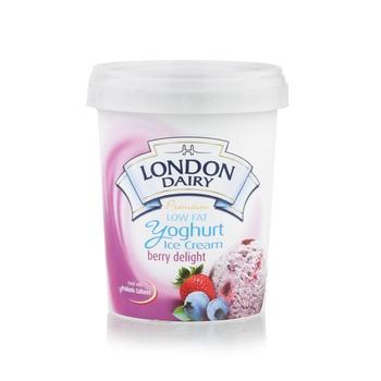 London Dairy Diet Yoghurt Berry Delight Ice Cream 500ml