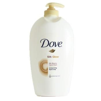 Dove Hand Wash Liquid Soap Silk Glow 500 ml