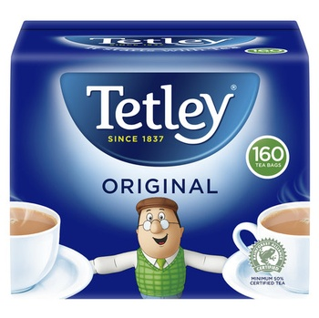 Tetley Soft Pack 160s