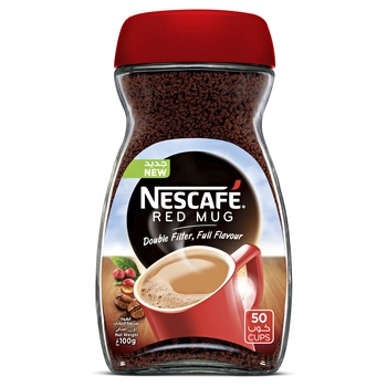 Nescafe Red Mug Soluble Coffee 100g